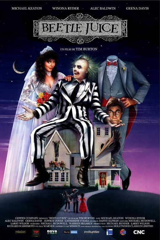 Image result for 80's movies beetle juice