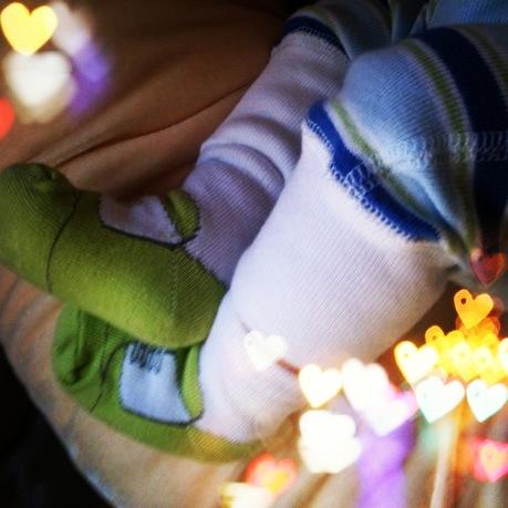 Finn Legs Crossed Hearts