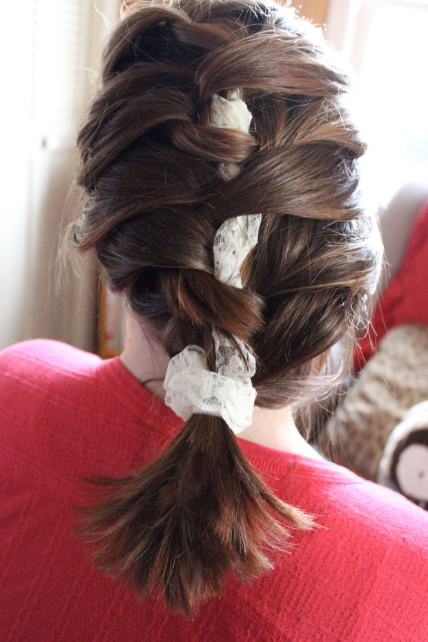 Collette's French Braid with a Lacy Twist