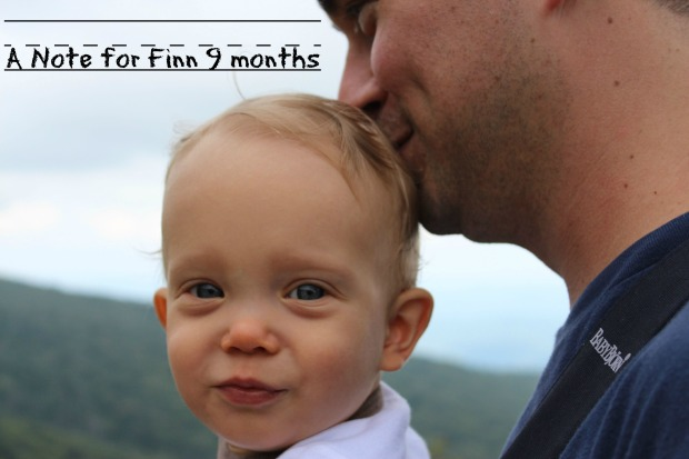 9 month Finn closeup