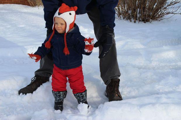 Finn snow 1