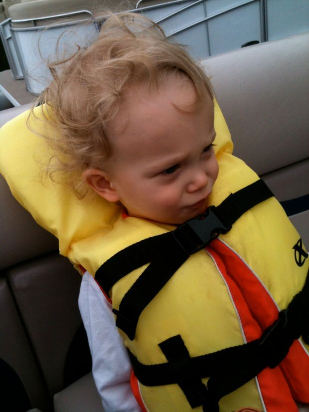 You went on your first pontoon ride.