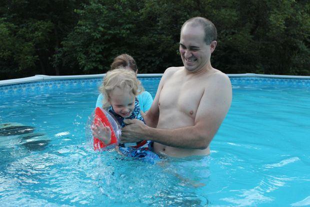 And decided to start splashing!